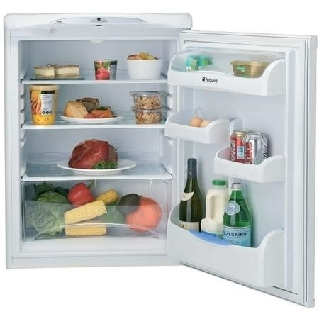 Hotpoint RLA36P 60cm Wide Freestanding Under Counter Larder Fridge - Global White