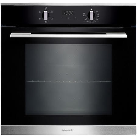 Rangemaster RMB605BLSS 60cm Electric Built-in 5 Function Single Oven