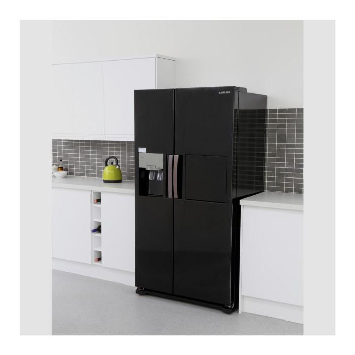 3e4ea37ab56d Samsung RS7677FHCBC 543L American Freestanding Fridge Freezer - Black