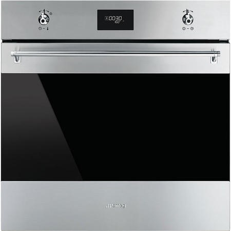 Smeg SFP6372X 60cm Classic Stainless Steel and Eclipse Glass Pyrolytic Multifunction Oven