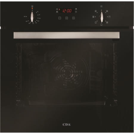CDA SK310BL Seven Function 74L Electric Built in Single Oven Black