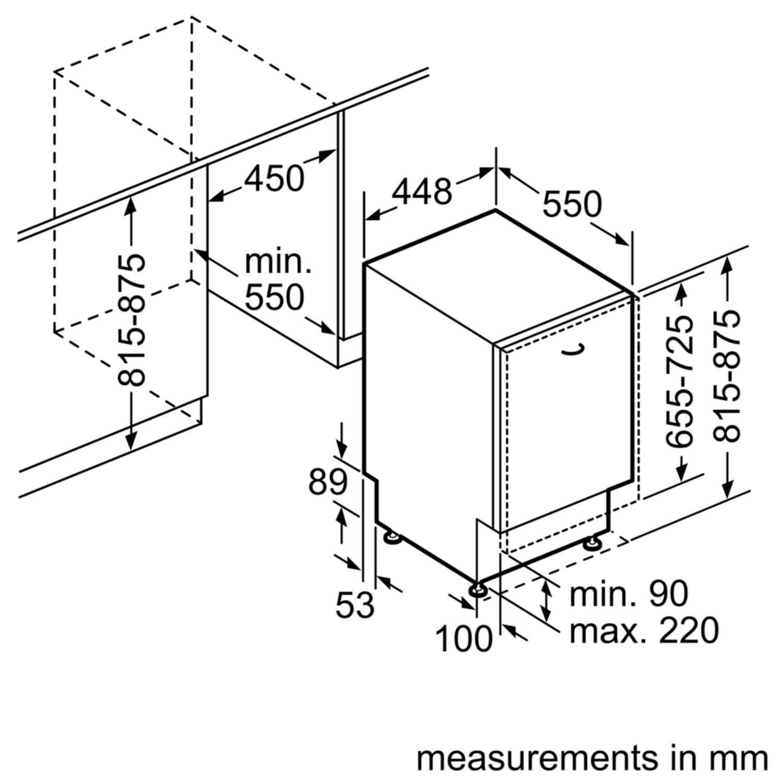 Mizuntitled: Bosch Smv40c30gb Fully Integrated Dishwasher