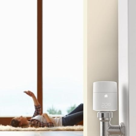 Tado Additional Smart Radiator Thermostat - Vertical Fitting