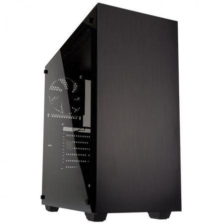 Kolink Stronghold Mid Tower Gaming Case - Black Tempered Glass