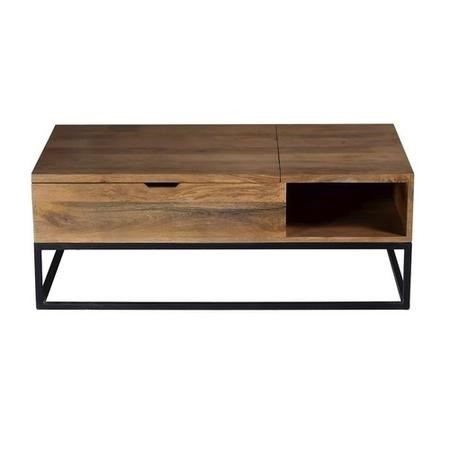 Suri Coffee Table With Storage Industrial Style