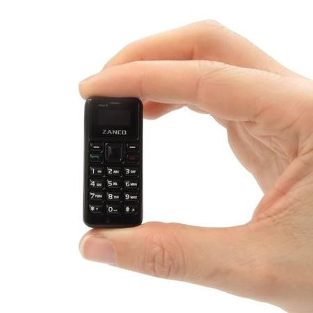 Zanco Tiny T1 - Black - World's Smallest Mobile Phone
