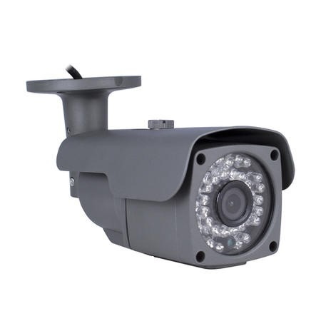 electriQ 8 Channel HD 1080p Network Video Recorder with 8 x 1080p Bullet Cameras - Hard Drive Required