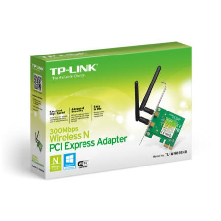 TP-Link TL-WN881ND 300Mbps Wireless N PCI Express - With low profile bracket