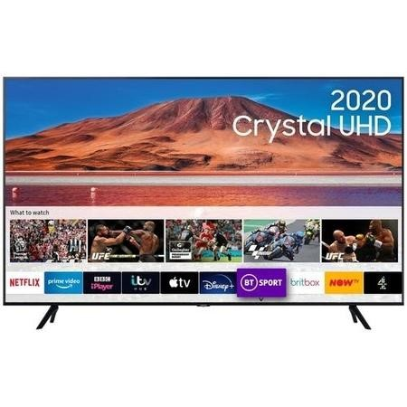 "Samsung UE70TU7100KXXU 70"" 4K Ultra HD HDR10+ Smart LED TV with TV Plus & Adaptive Sound"