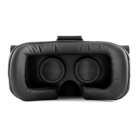 electriQ 3D VR glasses for phones with black remote control