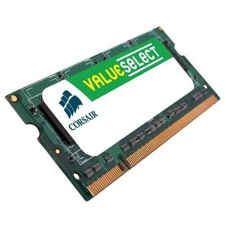 Corsair Value Select memory - 2 GB - SO DIMM 200-pin - DDR2