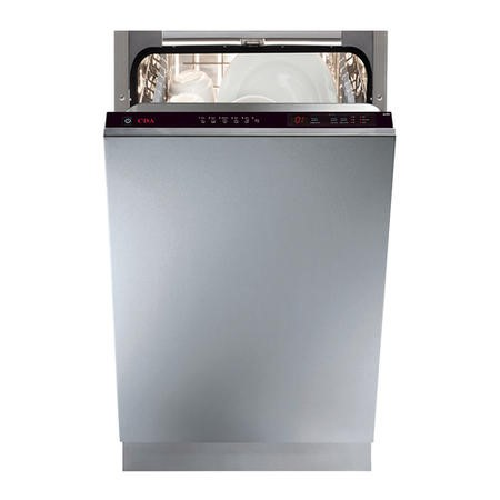 CDA WC432 10 Place Slimline Fully Integrated Dishwasher