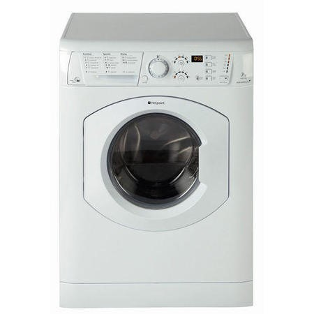 Hotpoint WDF740P Aquarius+ 7kg Wash 5kg Dry 1400rpm Freestanding Washer Dryer-White
