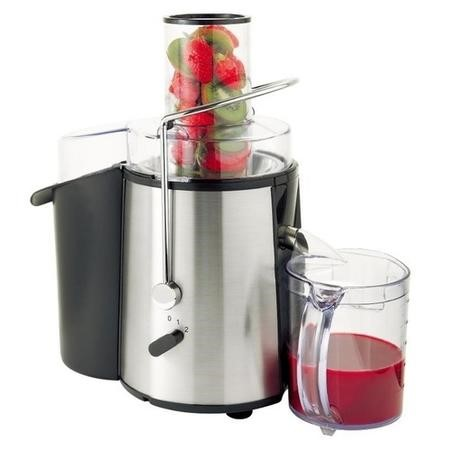 electriQ Whole Fruit 990W Power Juicer - Stainless Steel