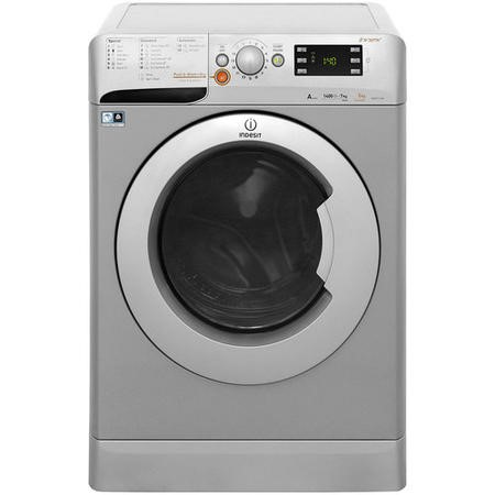 INDESIT XWDE751480XS Innex 7kg Wash 5kg Dry 1400rpm Freestanding Washer Dryer - Silver
