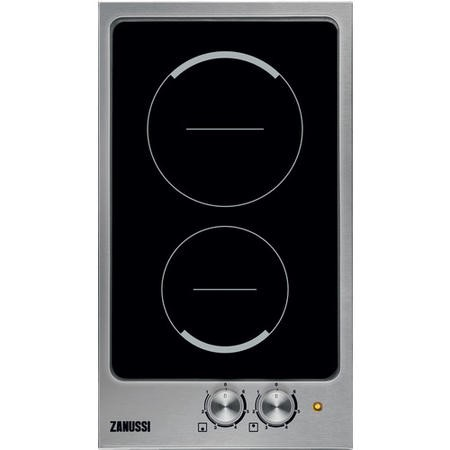 Zanussi ZES3921IBS 30cm Domino Ceramic Hob Stainless Steel