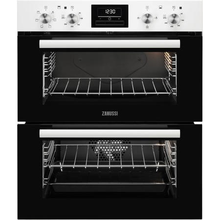 Zanussi ZOF35601WK Multifunction Built-under Double Oven With Catalytic Liners - White