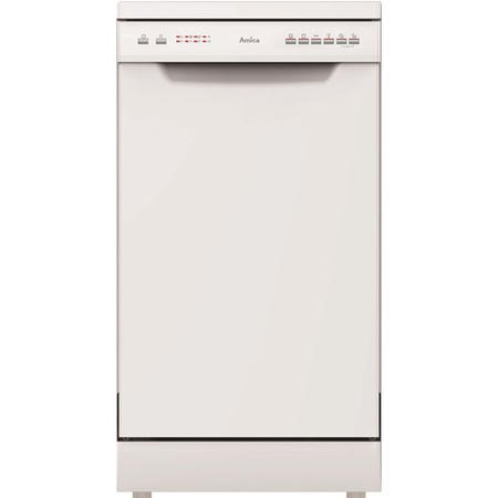 Amica ZWM496W 9 Place Slimline Freestanding Dishwasher - White