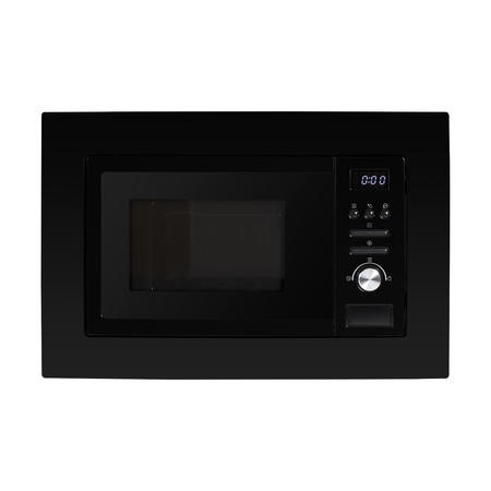 electriQ 20L Built-In Microwave with Grill in Black