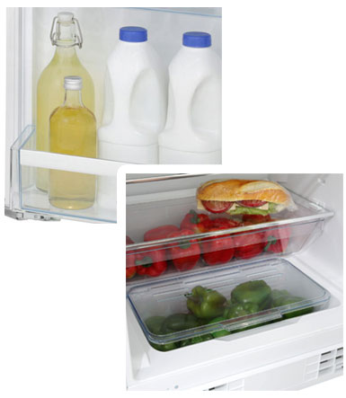 KUR15A50GB Fridge interior