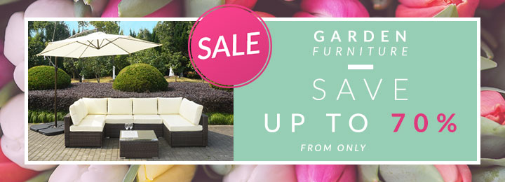 Garden Furniture - Up to 70% off