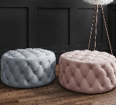 Stools and pouffes.