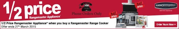 Rangemaster Half Price Offer